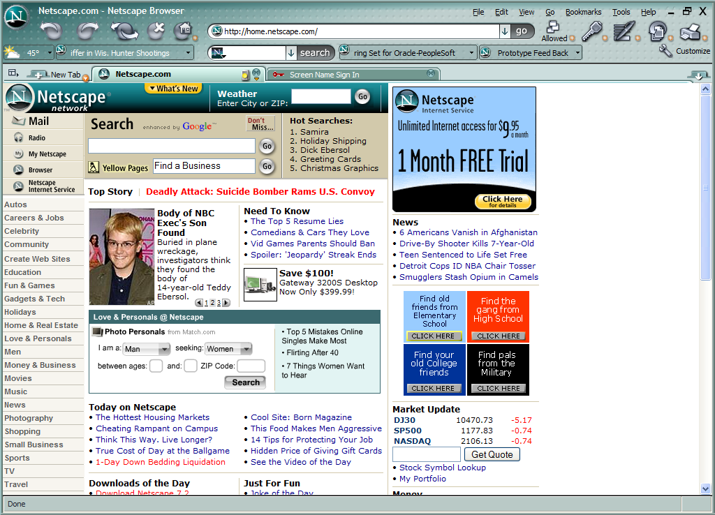 similarities and differences between netscape communicator and internet explorer Netscape navigator®, netscape communicator®, and microsoft® internet explorer are all secure browsers if you are not using one of these browsers, or feel your browser does not meet the security requirements of.